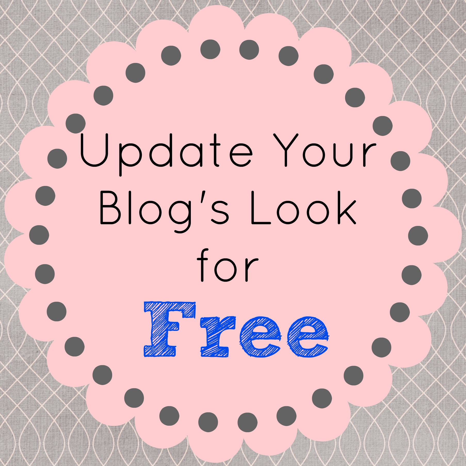 Update Your Blog's Look For Free