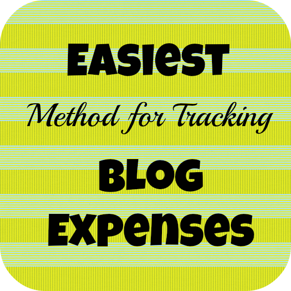 Easiest Method for Tracking Blog Expenses