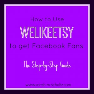 How to Use WeLikeEtsy to Get Facebook Fans