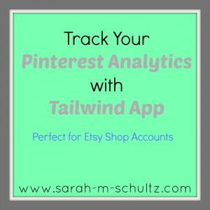 Pinterest Analytics With Tailwind App
