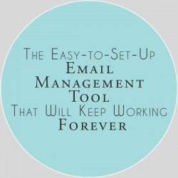 Quick Email Management Tip
