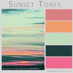 Sunset Tones Color Palatte