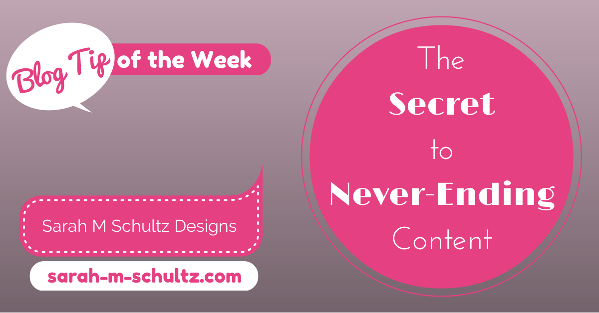 The Secret to Never-Ending Content: Batching