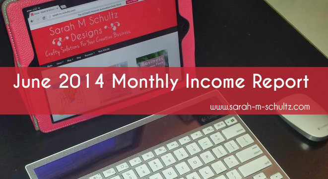 June 2014 Income Report