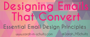 Designing Emails That Convert #email #bloggingtip