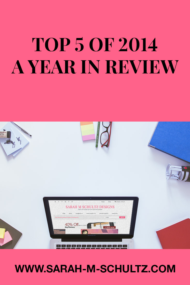 Top 5 of 2014 A Year in Review Pinterest