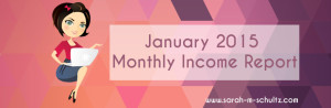 January 2015 Income Report